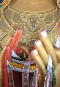 Bodhisattva hands